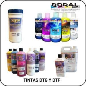 Tintas DTG